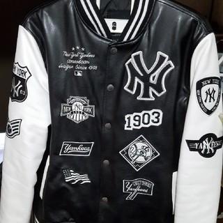 ヤンキース スタジャン 白黒