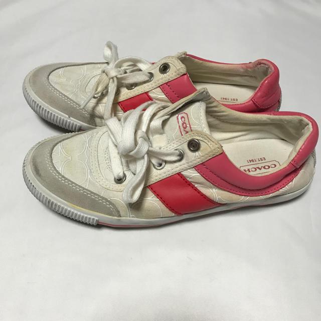 COACH(コーチ)のCOACH/のスニーカー★レディース★サイズ6/約23cm レディースの靴/シューズ(スニーカー)の商品写真
