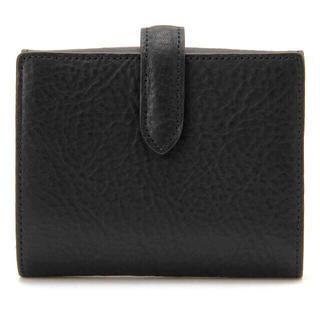 ムジルシリョウヒン(MUJI (無印良品))の【新品】MUJI  ヌメシュリンク2つ折財布 (財布)