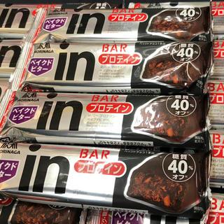 モリナガセイカ(森永製菓)の【24本】森永 糖質40%オフ タンパク質10g  プロテイン ベイクドビター (プロテイン)