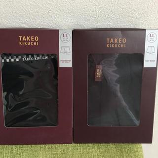 TAKEO KIKUCHI - タケオキクチボクサーパンツ新品