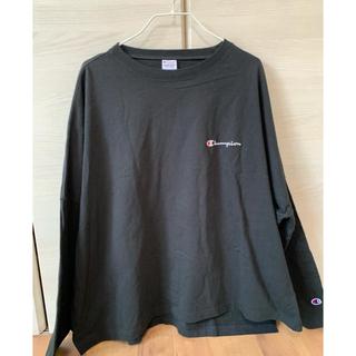 FRAY I.D - [タグ付き]フレイアイディー ×チャンピオン バックプリント ロングTシャツ