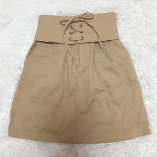 マジェスティックレゴン(MAJESTIC LEGON)のベージュ*スカート(ミニスカート)