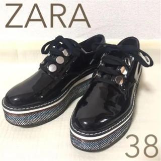 ZARA - ZARA プラットホームシューズ 美品 24cm 38