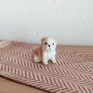 H.P.FRANCE - ちいさな犬の陶器フィギア ❀ ブル