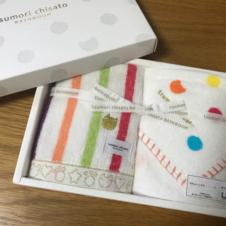TSUMORI CHISATO - ツモリチサト タオルハンカチ セット 未使用 タグ付 レディース