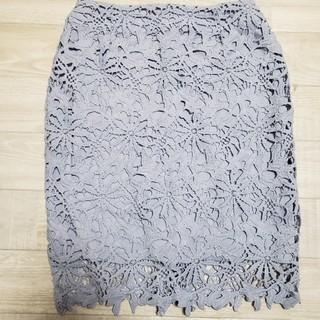 INGNI - <1000円セール品>イング レースタイトスカート(ラベンダー)