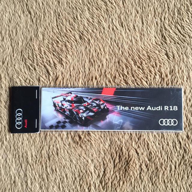 AUDI(アウディ)のアウディR18両面ステッカー 自動車/バイクの自動車(車外アクセサリ)の商品写真