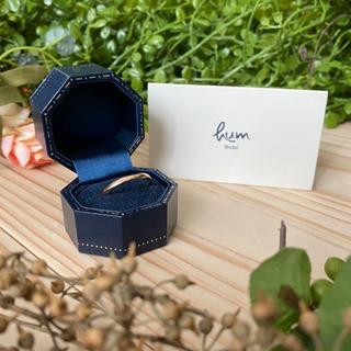 hum mugen ring #16 pink gold(リング(指輪))