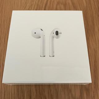 アップル(Apple)の新品 Air Pods with charging case MV7N2J/A(ヘッドフォン/イヤフォン)