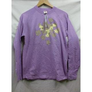 ピーナッツ(PEANUTS)のPEANUTSスヌーピーロングTシャツピーナッツキャラ未使用美品M(Tシャツ/カットソー(七分/長袖))
