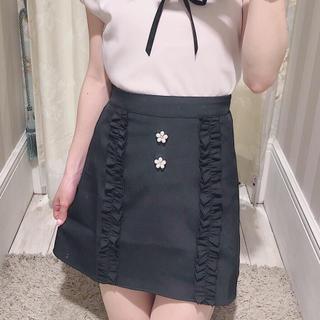エブリン(evelyn)のevelyn パールフリルスカート♡(ミニスカート)