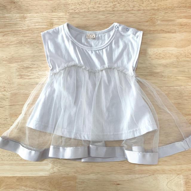 petit main(プティマイン)のプティマイン 90 キッズ/ベビー/マタニティのキッズ服女の子用(90cm~)(Tシャツ/カットソー)の商品写真