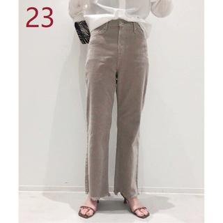 L'Appartement DEUXIEME CLASSE - UPPER HIGHTS TAYLOR CORDUROY パンツ グレーB/23