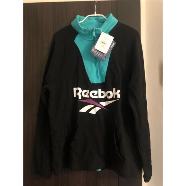 Reebok(リーボック)のリーボック ハーフジップスウェット メンズのトップス(スウェット)の商品写真