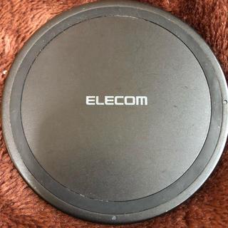 エレコム(ELECOM)のQi規格対応ワイヤレス充電器(5W)(バッテリー/充電器)