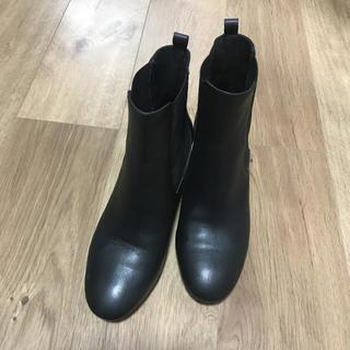 ドゥーズィエムクラス(DEUXIEME CLASSE)のMARIAN スペイン製 サイドゴアブーツ ブラック(ブーツ)