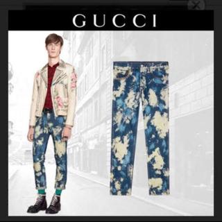 Gucci - GUCCI ブリーチ デニム 17ss