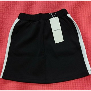 COMME CA ISM - ☆ COMMECA コムサ サイドライン ジャージ スカート スポガール 新品☆