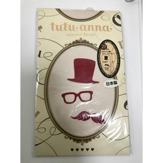 チュチュアンナ(tutuanna)のtutuanna 新品未開封 フロッキープリントタイツ(タイツ/ストッキング)