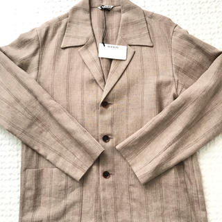オーラリー  SHARK SKIN SHIRT JACKET サイズ:3