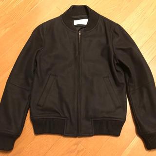 Ray BEAMS - ビームス    ジャンパー ジャケット コート ブルゾン スタジャン 黒 S