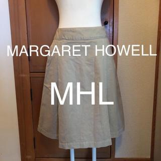 マーガレットハウエル(MARGARET HOWELL)のMARGARET HOWELL マーガレットハウエル MHL スカート(ひざ丈スカート)