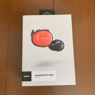 ボーズ(BOSE)のsoundsport free wireless headphones(ヘッドフォン/イヤフォン)