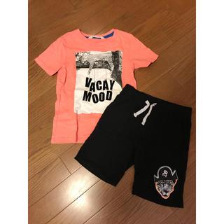 H&M - H&M セットアップ Tシャツ ハーフパンツ 110 120