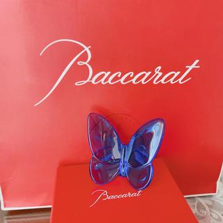 バカラ(Baccarat)のbaccarat ラッキーバタフライ(置物)