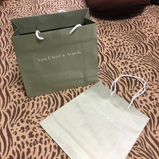 Van Cleef & Arpels - Van Cleef & Arpels ショップバッグ2枚