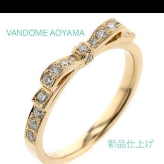 Vendome Aoyama - VANDOME AOYAMA  ヴァンドーム青山 リボンリング  k18