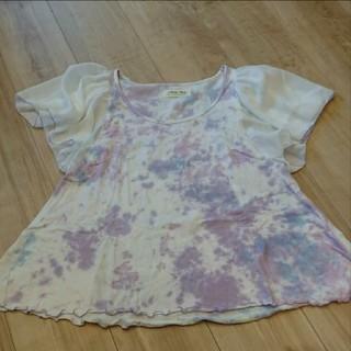 アンティローザ(Auntie Rosa)のタイダイ柄Tシャツ アンティローザ(Tシャツ(半袖/袖なし))