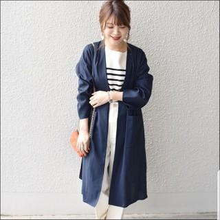 SHIPS - 美品 SHIPS 春 コットン 長袖 コート