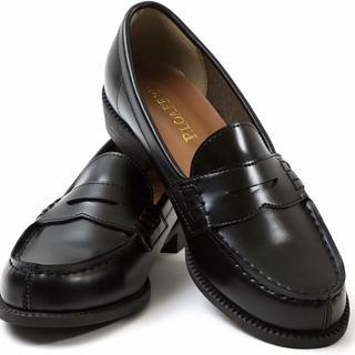 ローファー ベーシック 25.5cm ブラック(ローファー/革靴)