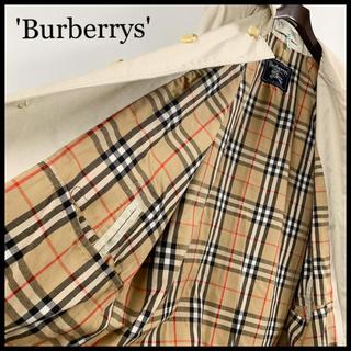BURBERRY - BURBERRY バーバリー ステンカラーコート ベージュ クリーニング済み