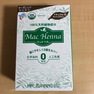マック(MAC)のマック ヘナハーバルヘアートリートメント ナチュラルライトブラウン(100g)(白髪染め)
