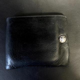 Chrome Hearts - 正規品 クロムハーツ ワンスナップ クロスボール ウォレット  財布 本物