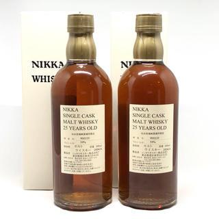 ニッカウイスキー(ニッカウヰスキー)の宮城峡25年 2本セット(ウイスキー)
