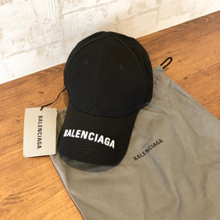 Balenciaga - 新品 100%本物 balenciaga ロゴキャップ