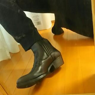 ヒステリックグラマー(HYSTERIC GLAMOUR)の【最終価格】新品HYSTERIC GLAMOURブーツBLACK27cm黒(ブーツ)