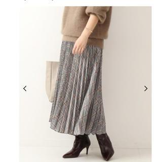 Spick and Span - 完売品 Spick & Span チェックプリーツスカート