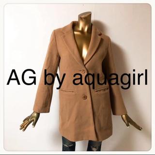 エージーバイアクアガール(AG by aquagirl)の☘T2856☘AG by aquagirl チェスターコート M(チェスターコート)