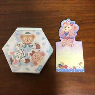 Disney - 【中古】ディズニー ダッフィー メモ