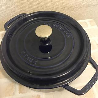 ストウブ(STAUB)のCAMERUS様専用★鍋 ストウブ 22cm(調理道具/製菓道具)