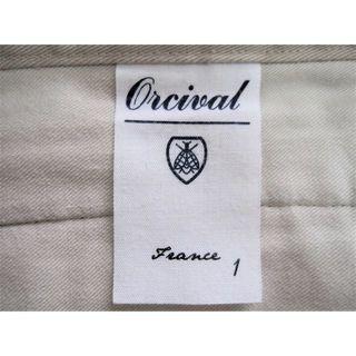 オーシバル(ORCIVAL)の追加画像 ORCIVAL オーシバル ヴィンテージツイルパンツ(カジュアルパンツ)