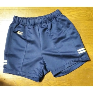 asics - 体操服 ショートパンツ L 濃紺色