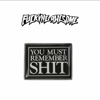 FUCKING AWESOME「REMEMBER ENAMEL PIN 」(スケートボード)