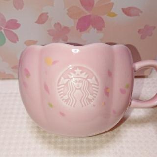 スターバックスコーヒー(Starbucks Coffee)のスタバ さくら 2020 マグサクラシェイプ(グラス/カップ)