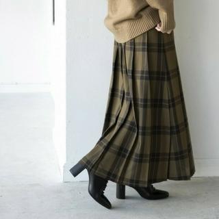 LOWRYS FARM - チェックキルトスカート